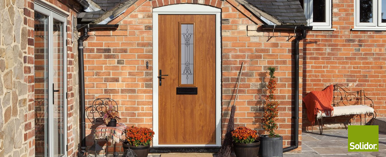 We Install the Stunning Solidor Composite Door